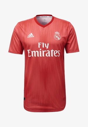 REAL MADRID AUTHENTIC THIRD JERSEY - Club wear - red