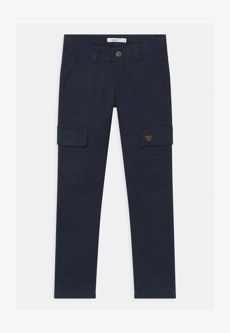 Name it - NKMROBIN CARGO - Pantalon cargo - dark sapphire