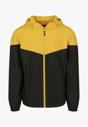 TONE TECH - Vindjacka - yellow/black