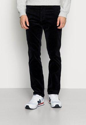 TEXAS SLIM - Trousers - navy