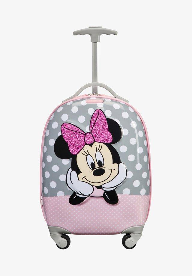 DISNEY ULTIMATE - Wheeled suitcase - multi coloured/light pink