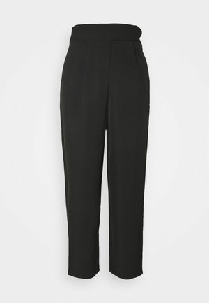 YASCAMILLE ANKLE PANTS - Trousers - black