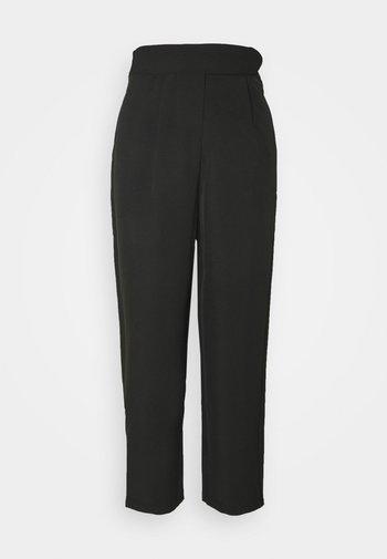 YASCAMILLE ANKLE PANTS - Bukse - black