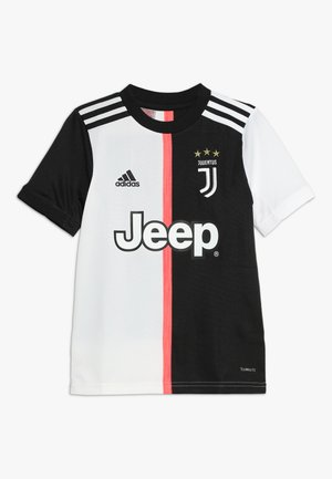 JUVENTUS TURIN HOME - Club wear - black/white