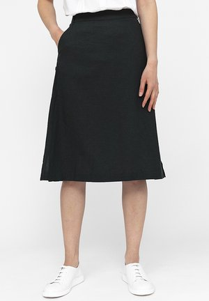 A-line skirt - forest