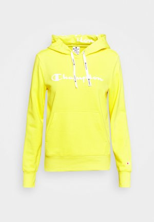 HOODED - Huppari - yellow