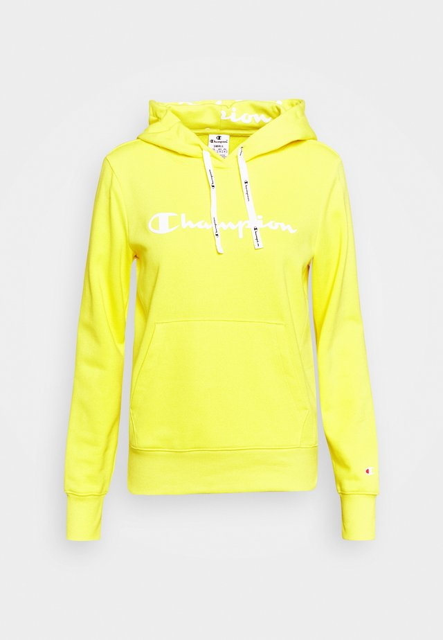 HOODED - Felpa con cappuccio - yellow