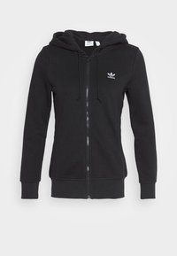 adidas Originals - TRACK - Zip-up hoodie - black - 0