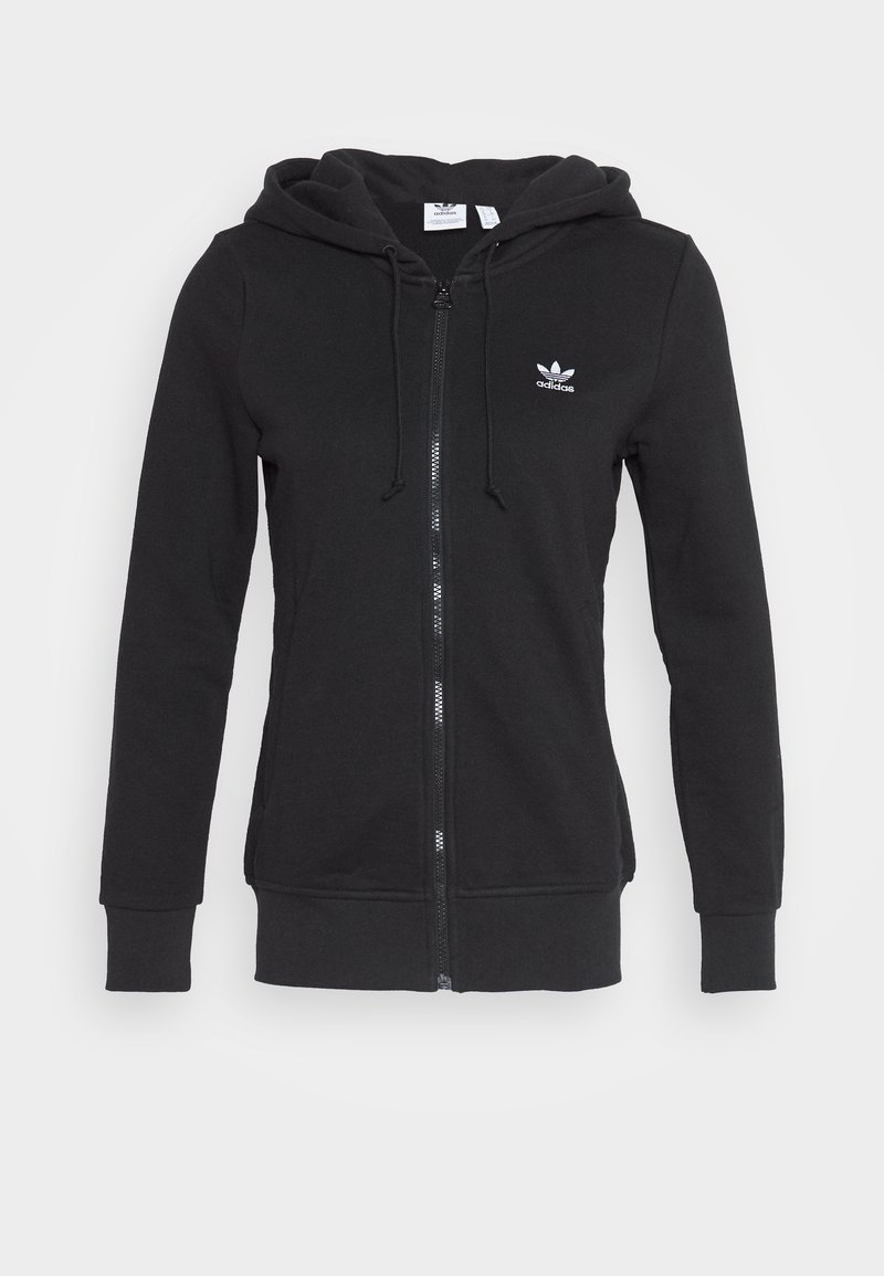 adidas Originals - TRACK - Zip-up hoodie - black