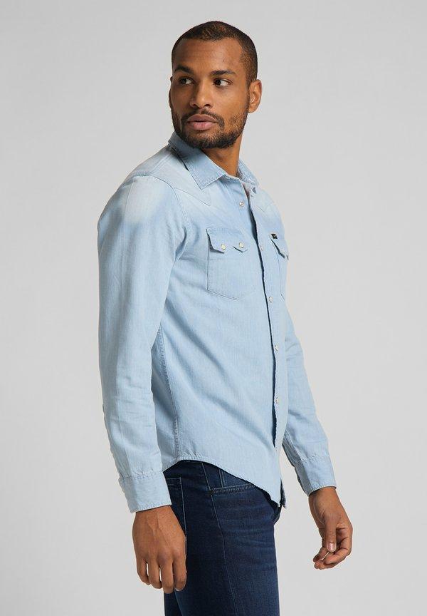 Lee Koszula - summer blue/niebieski Odzież Męska RFCK