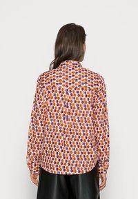 Emily van den Bergh - BLOUSE - Button-down blouse - orange lilac brown - 2