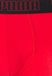 Puma - BASIC TRUNK 2 PACK - Culotte - red/black - 3