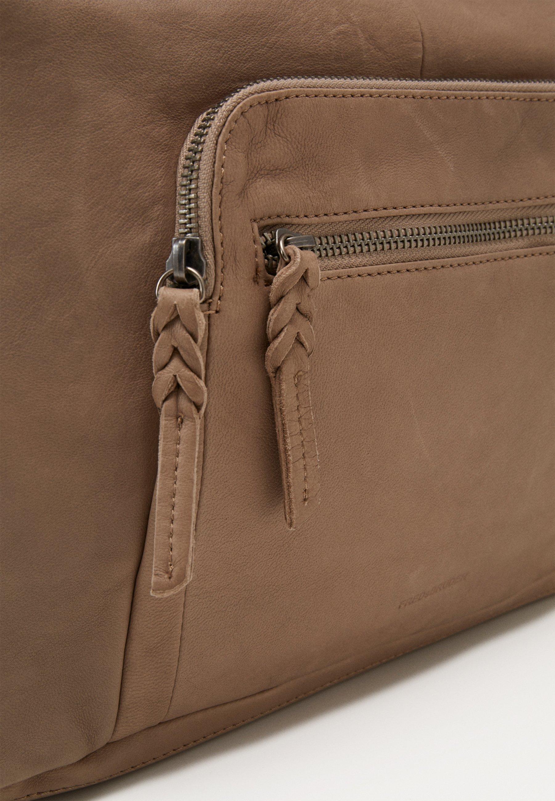 Fredsbruder Airy - Handtasche Warm Grey/camel