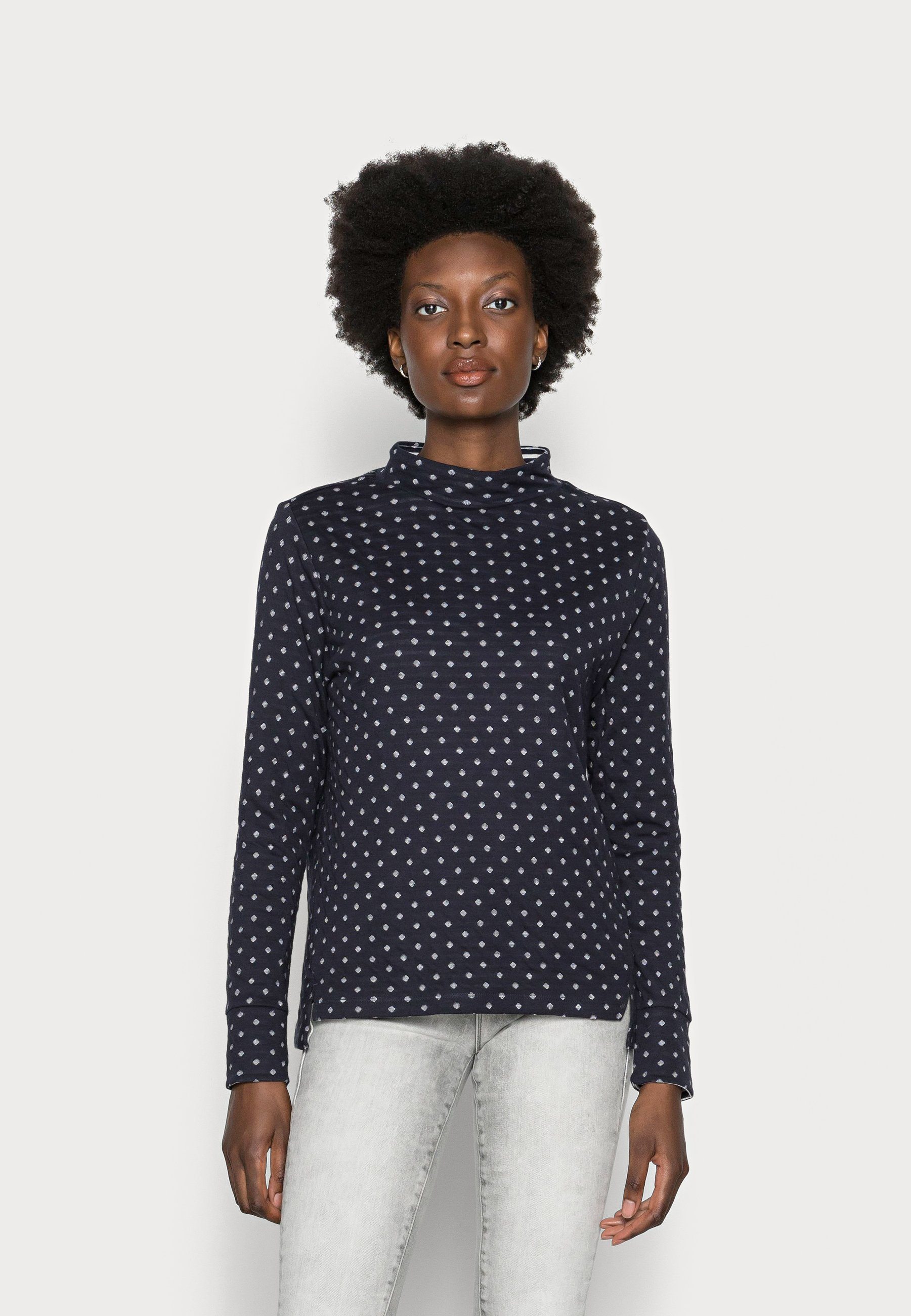 Women DOUBLE FACE - Long sleeved top