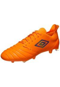 Umbro - UX ACCURO III PRO FG FUSSBALLSCHUH HERREN - Moulded stud football boots - orange / grey reflective - 2