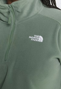 The North Face - GLACIER CROPPED ZIP - Fleece jumper - agave green - 5