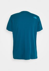 The North Face - MENS REAXION EASY TEE - Print T-shirt - moroccan blue - 6