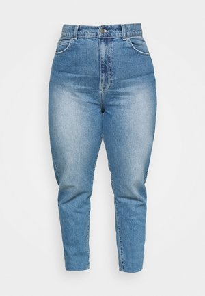 NORA - Slim fit jeans - mid stone stretch