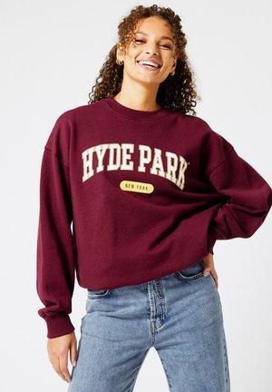 SADIE - Sweater - dark red