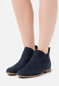 Anna Field - LEATHER - Ankle boots - blue - 0