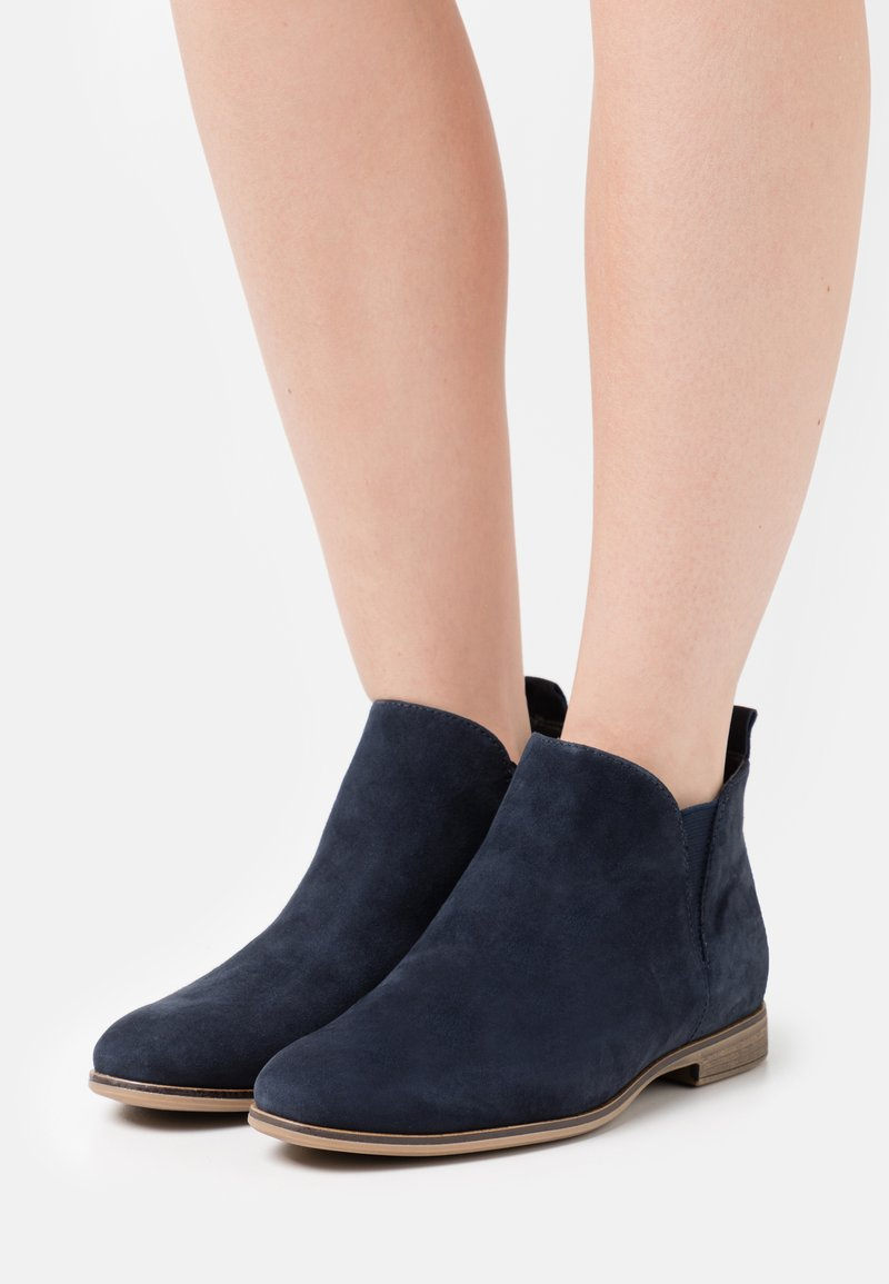 Anna Field - LEATHER - Ankle boots - blue
