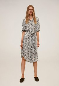 Mango - BASIC - Shirt dress - grau - 1