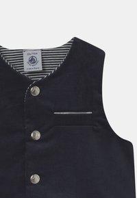 Petit Bateau - BABY ENSEMBLE SET - Suit waistcoat - dark blue/white - 2