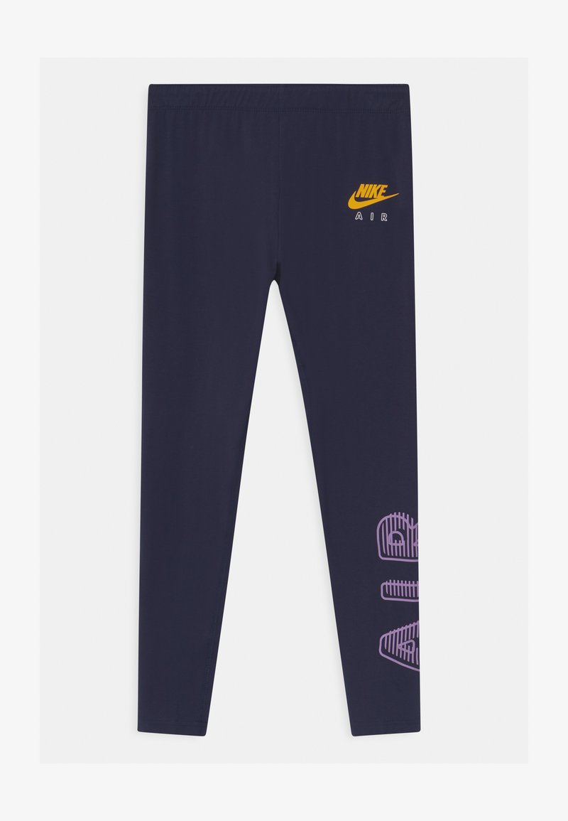 Nike Sportswear - AIR FAVORITES - Leggings - Trousers - obsidian/violet star