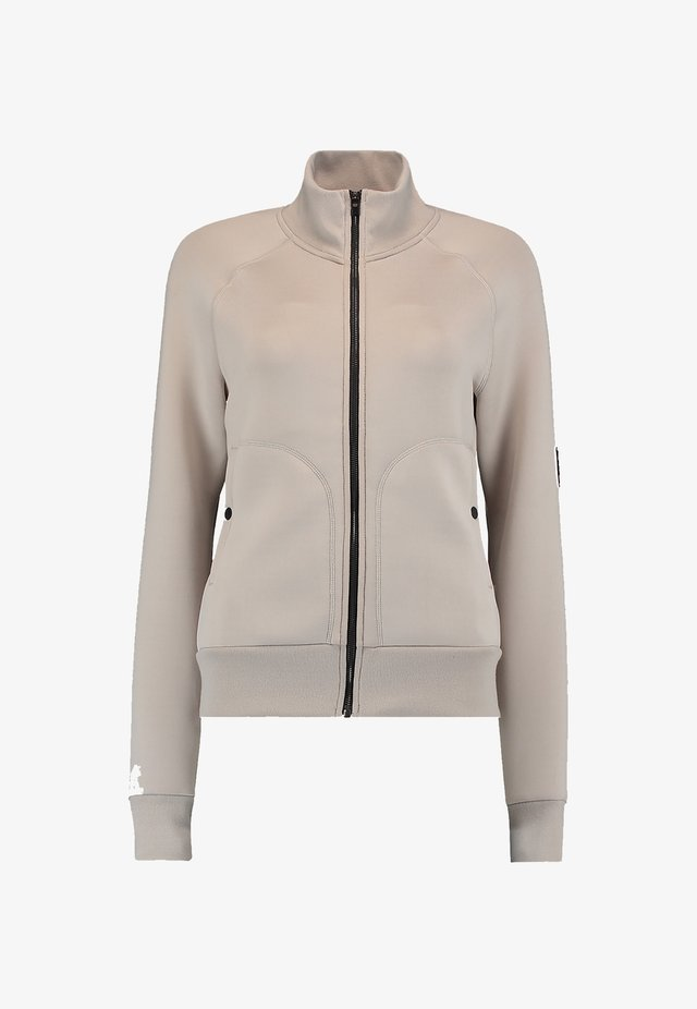 Fleece jacket - chateau gray