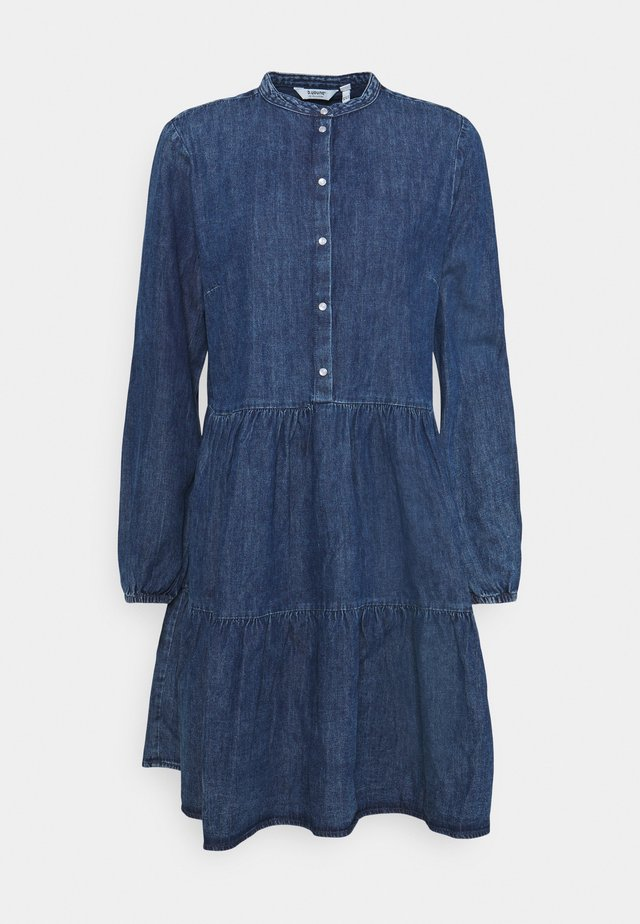 DRESS - Dongerikjole - blue denim