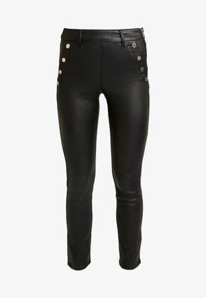 POETE.N - Trousers - black