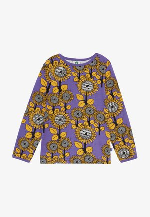 SUN FLOWERS - Longsleeve - purple heart