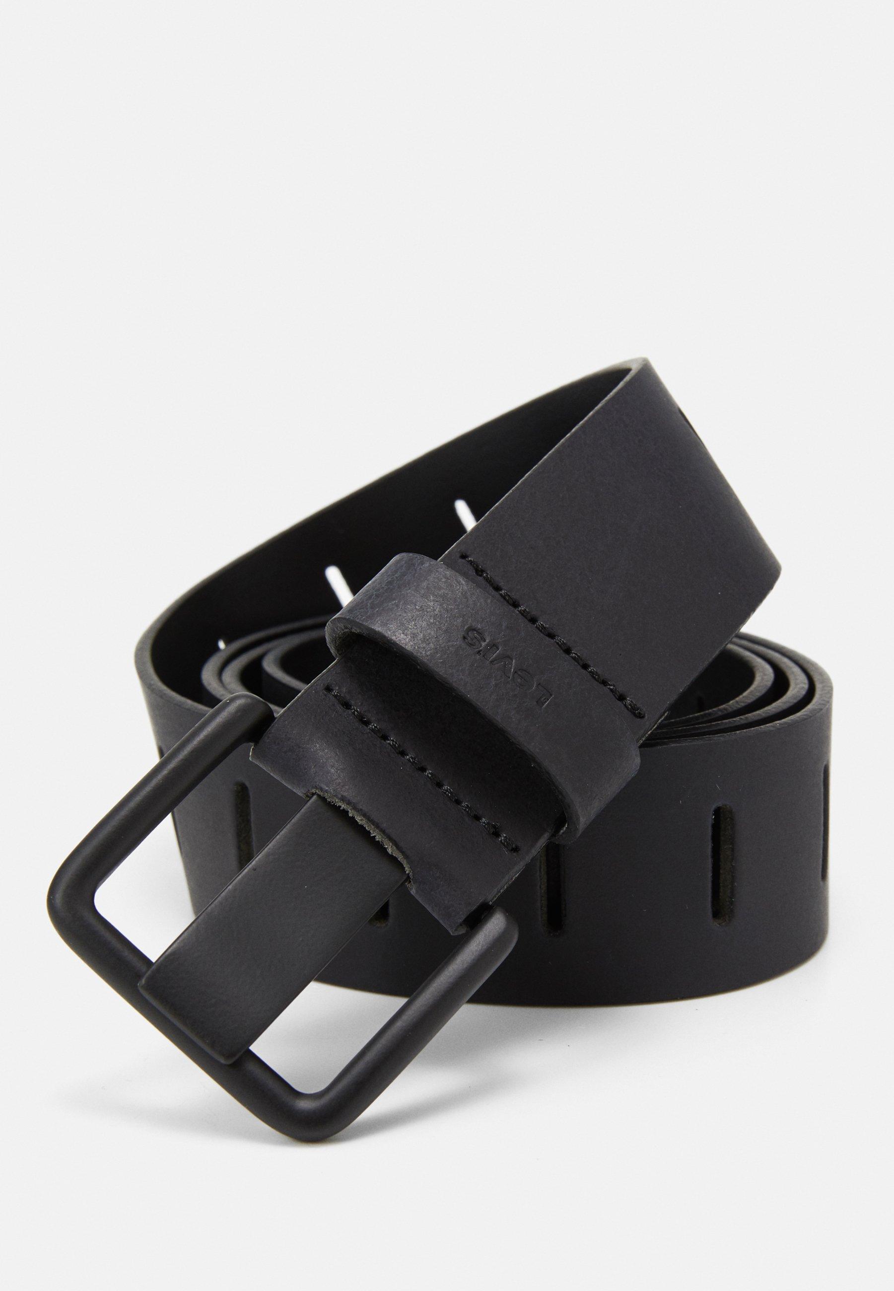 Levi's® SLATTED BELT - Belte - regular black/svart cJbZsx0RimkbJMK