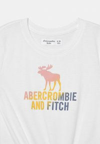 Abercrombie & Fitch - LOGO TIE FRONT  - Triko spotiskem - white - 2