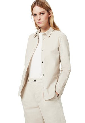 TINA - Button-down blouse - sand