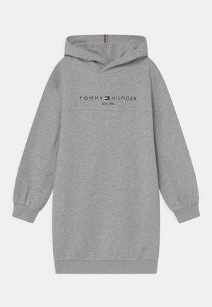 ESSENTIAL HOODIE - Day dress - grey heather