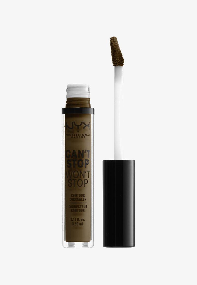 Nyx Professional Makeup - CSWS CONTOUR CONCEALER - Concealer - 22-märz walnut