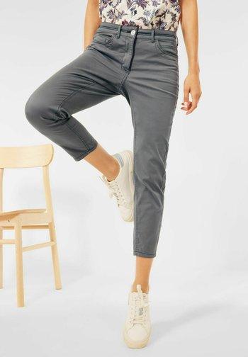 SLIM FIT - Trousers - grau
