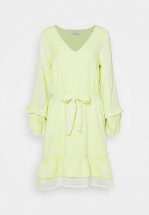 LIV - Day dress - avocado green