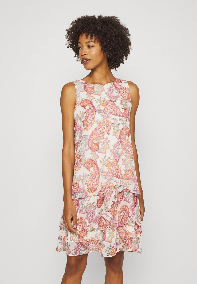 comma - KURZ - Denní šaty - multi-coloured
