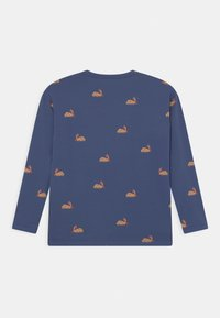 TINYCOTTONS - UNISEX - Long sleeved top - soft blue/toffee - 1