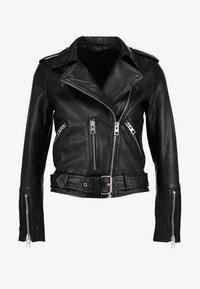AllSaints - BALFERN BIKER - Leather jacket - black - 4