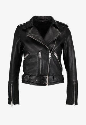 BALFERN BIKER - Leren jas - black