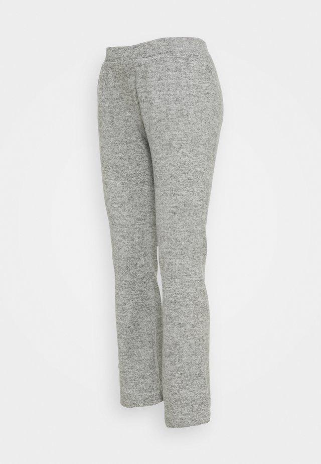 PCMPAM FLARED PANT - Broek - light grey melange