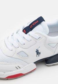 Polo Ralph Lauren - Sneakers basse - white/newport navy - 5