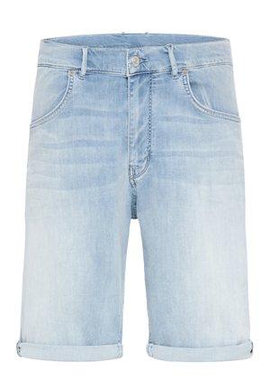SEEK_2 - Denim shorts - blue