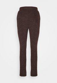 ONLALBA AMY PANT - Pantalones - bitter chocolate