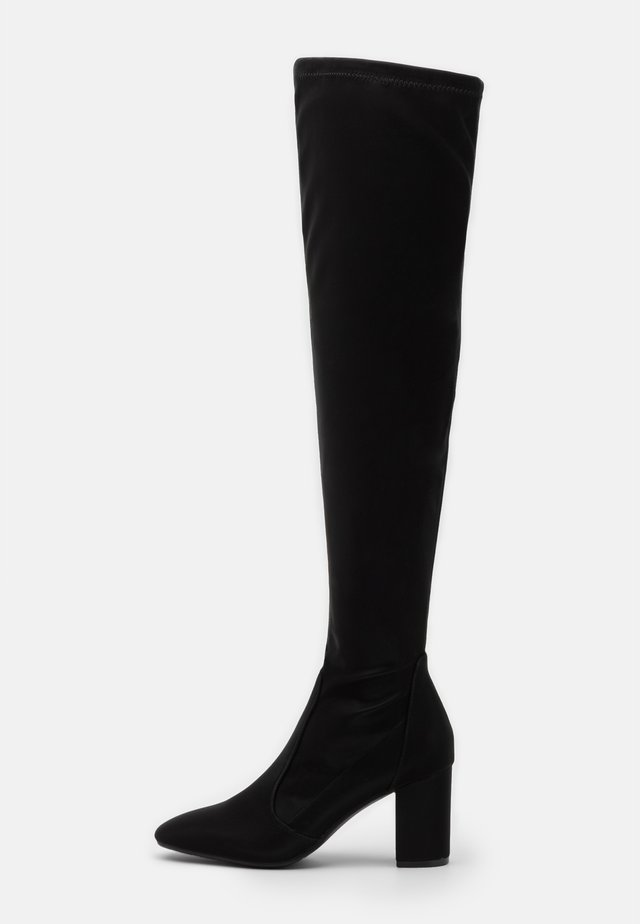 LAUSICK - Over-the-knee boots - black