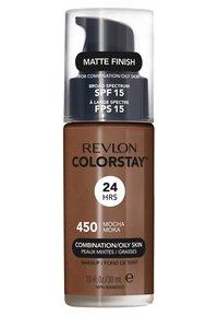 Revlon - COLORSTAY MAKE-UP FOUNDATION FOR OILY/COMBINATION SKIN - Foundation - N°450 mocha - 1