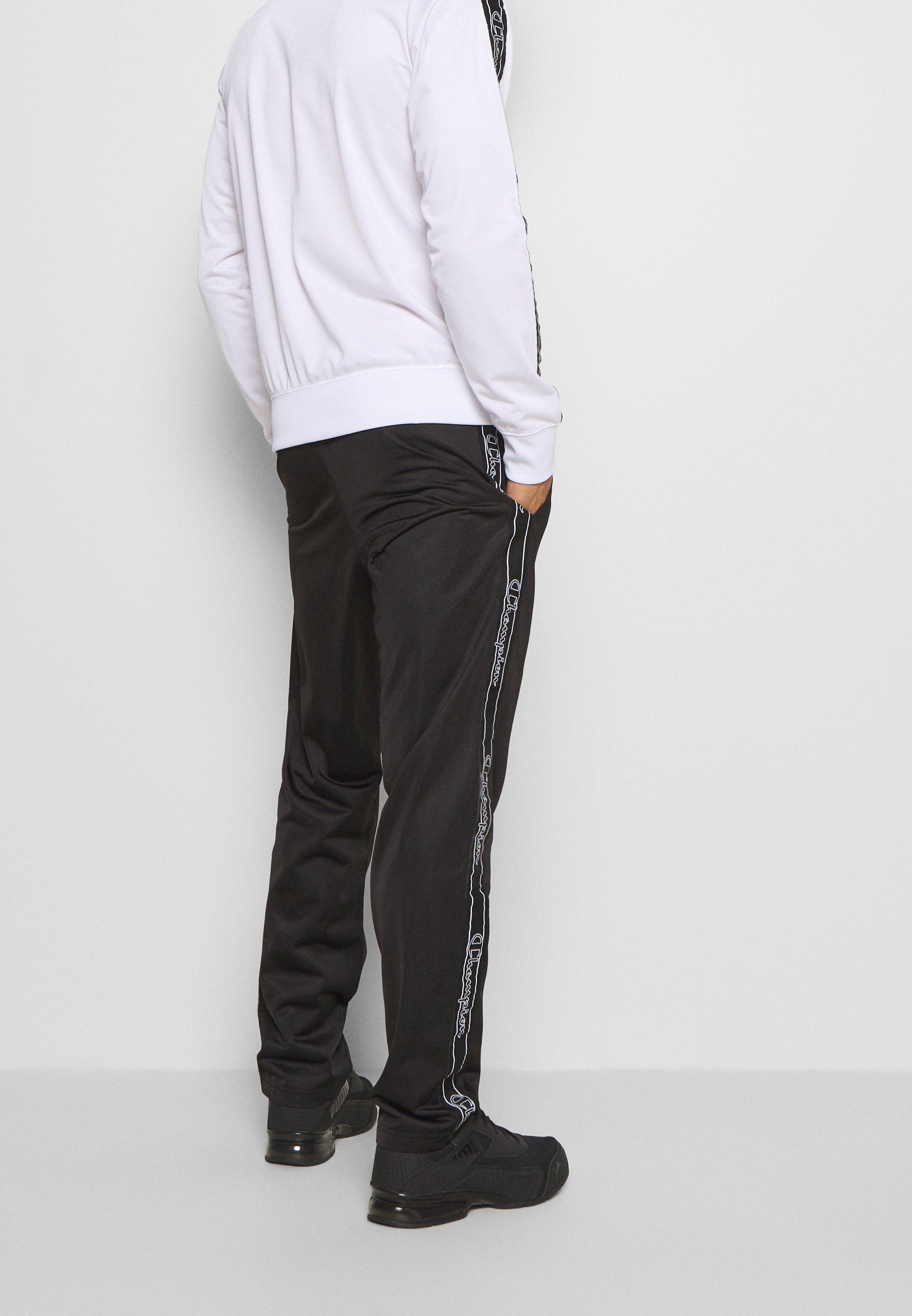 Prezzo incredibile Abbigliamento da uomo Champion LEGACY TAPE TRACKSUIT SET Tuta white/black